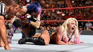Bliss in a ankle lock by Asuka