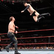 Itami wipes out Axel