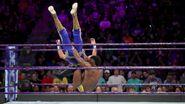 Alexander hits double knee on Gran-Metalik