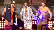 Dawson and Lefort with Rusev