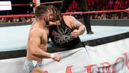 Balor fighting Bray-Wyatt outside