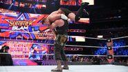 Braun-Strowman lifted Samoa-Joe