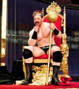 Sheamus won the King of the Ring 2010