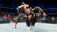 Usos double superkick Big-E