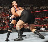 Jack-Swagger grappling Big-Show