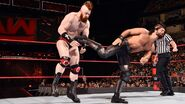 Rollins kicks Sheamus