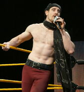 Aiden English WWE Axxess 2014