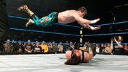 Eddie frog splash onto Undertaker