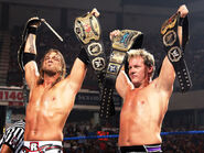 Edge and Jericho wins the Unified Tag Team Champion