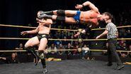 Roderick Strong sends a dropkick to O'Reilly