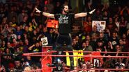 Seth Rollins on Monday Night Raw