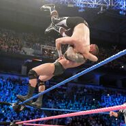 Orton suplex Sami off