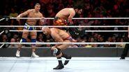 Rollins leap over Cesaro