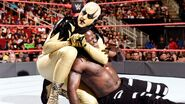 Goldust headlock on Truth