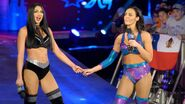 NXT's Peyton Royce and Billie Kay make their debut on SmackDown