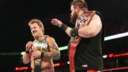 Chris Jericho as United States Champion with Kevin Owens