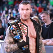 Randy Orton hits the Squared circle on SmackDown Live