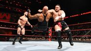 Samoa-Joe clothesline Gallows
