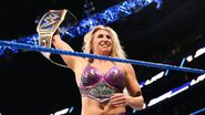 Charlotte Flair the new SmackDown Womens Champion