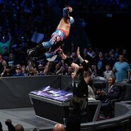 Cara jumps at Corbin