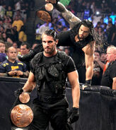 The Shield Tag Team Champions