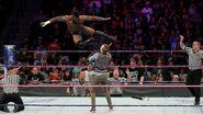 Alexander jumps on Gallagher