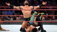 Neville showin off while pinnin Tozawa