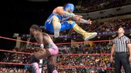 Gran jumping over Rich Swann