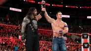 John-Cena congratulated Roman-Reigns