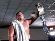 Samoa Joe as NXTChampions