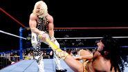 Jarrett tried to wrestle the intercontinental Titles away from Razor Ramon