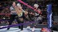 Kalisto kicking Enzo in the corner