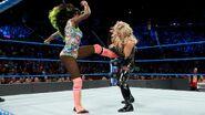 Naomi kick Natalya