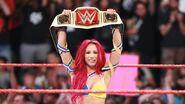 Sasha winning the Women Champion