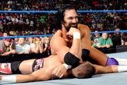 Damien beaten Kidd