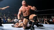 Brock-Lesnar beaten Rob-Van-Dam at King of the Ring 2002