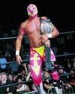 Rey Mysterio WCW Crusierweight Champion