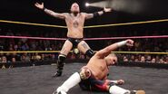 Aleister-Black taunting Raul-Mendoza