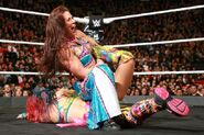 Asuka against Mickie James