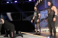 Roman Reign and Seth Rollins