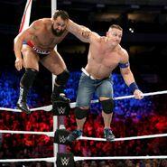 John-Cena taking Rusev off