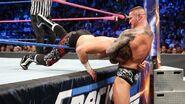 Orton putting Sami Zayn in a ddt