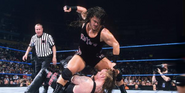 Rhyno taking down The-Undertaker