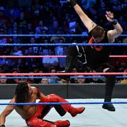 Owens stomps Nakamura