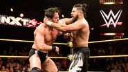 Roderick fighting Andrade