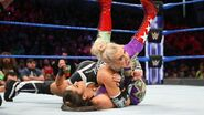 Lana pins Bayley to scores a victory