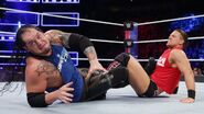 Miz traps Corbin with the Figure-Four Leglock