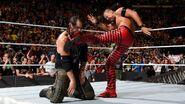 Nakamura kick Corbin