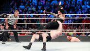 Brock-Lesnar suplex Roman-Reigns