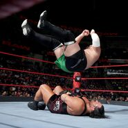 Joe drops onto Rhyno